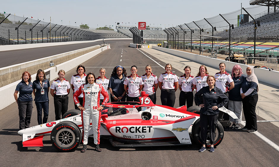 A Majority Female Team is Making History At The Indianapolis 500