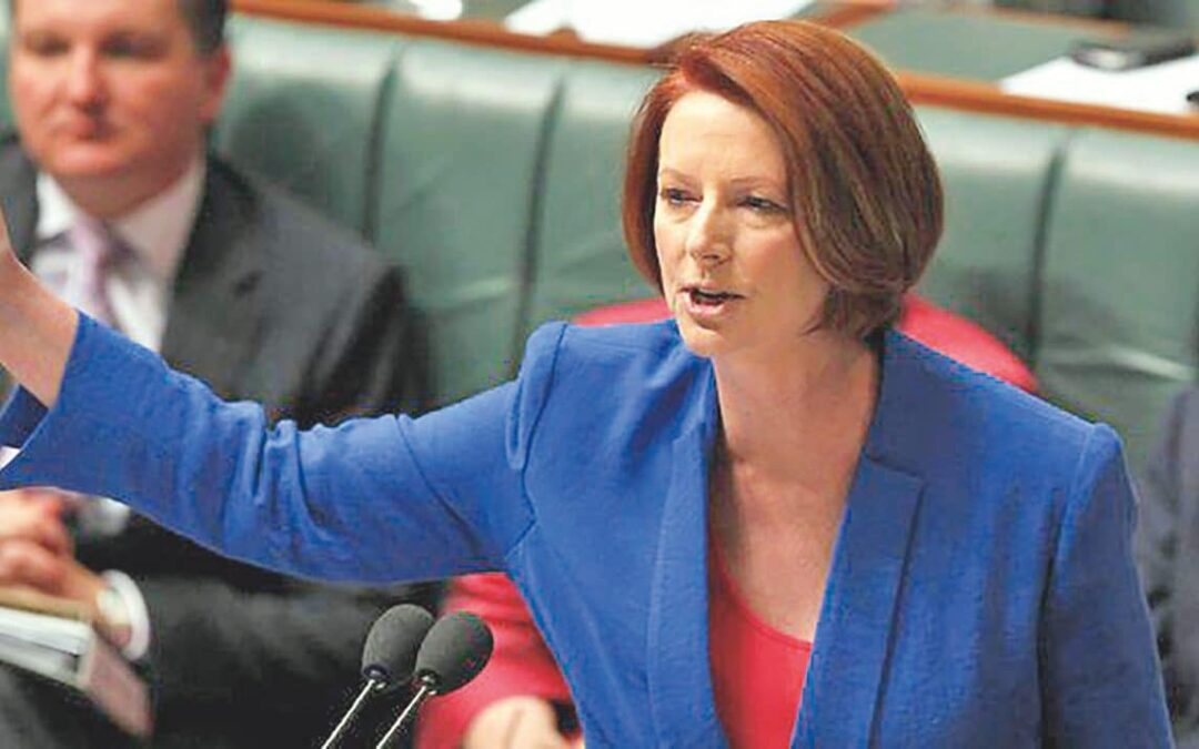 Julia Gillard's misogyny speech   Watch the full video