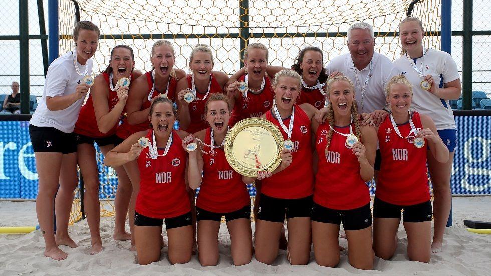 womens beach handball team fined for wearing shorts instead of bikini bottoms
