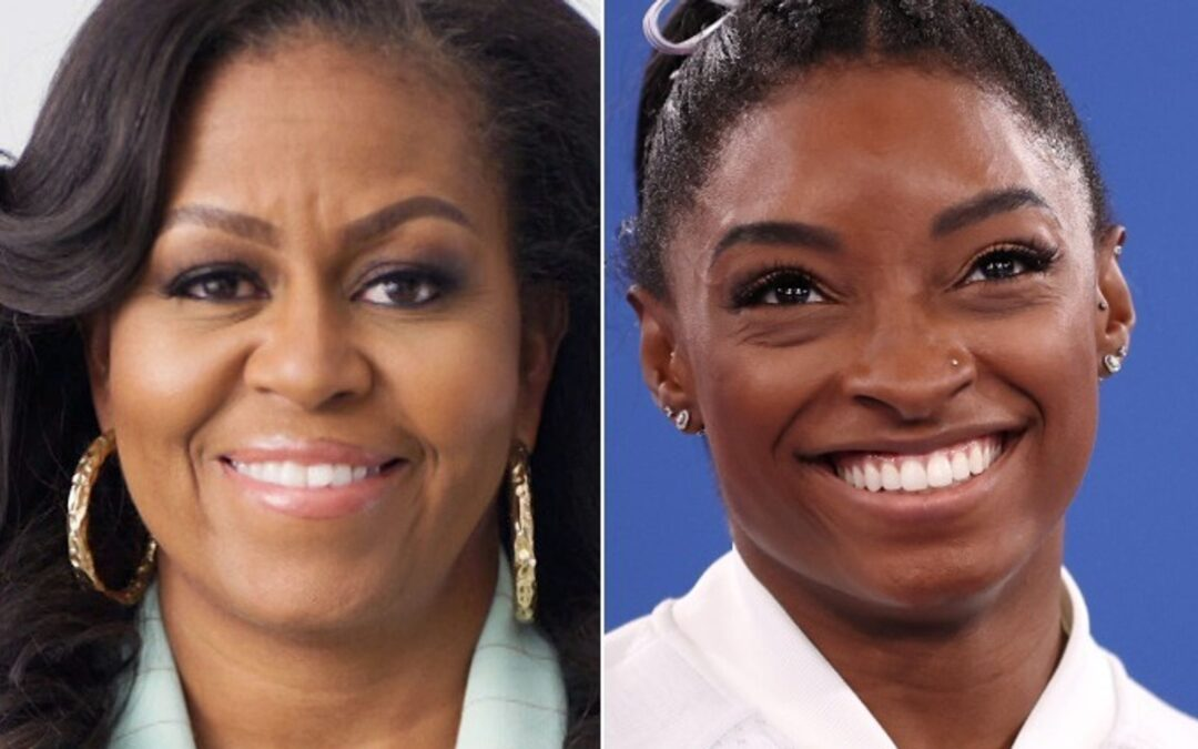 Michelle Obama Sends Support To Simone Biles