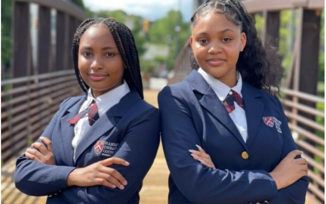 Atlanta Teenagers Make History At Harvard Debate Competition